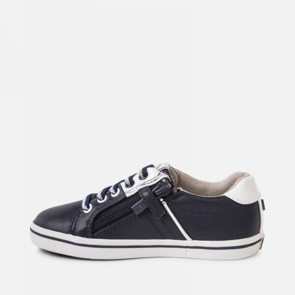 Mayoral Boys Leather Trainers