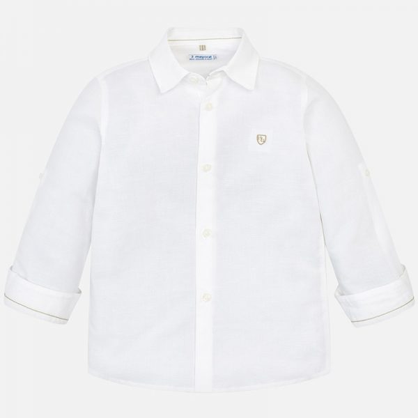 Mayoral Boys Linen Shirt
