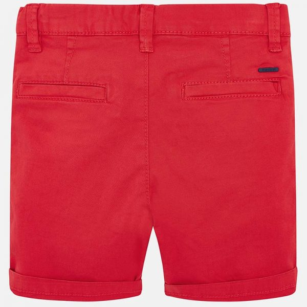 Mayoral Boys Red Shorts Back