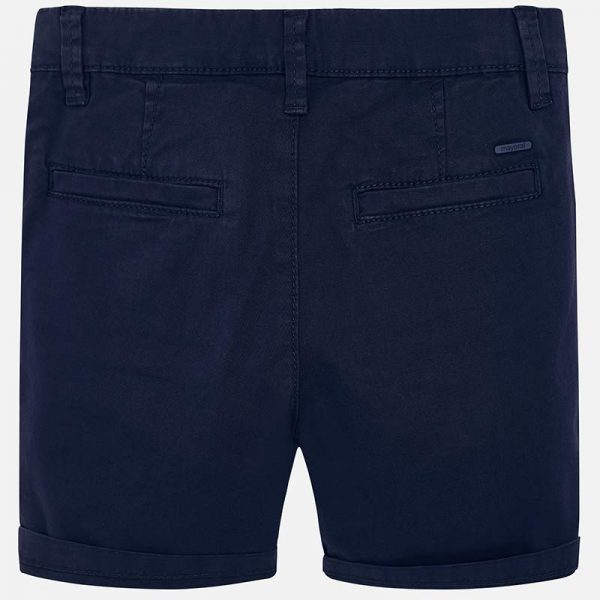 Mayoral Boys Navy Shorts Back