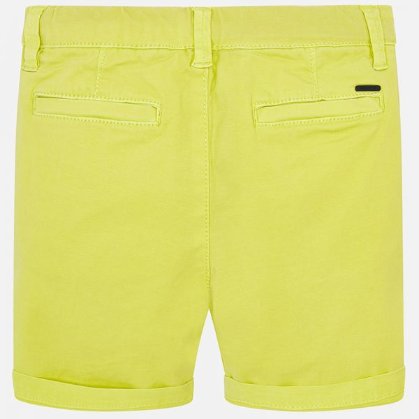 Mayoral Boys Yellow Shorts Back