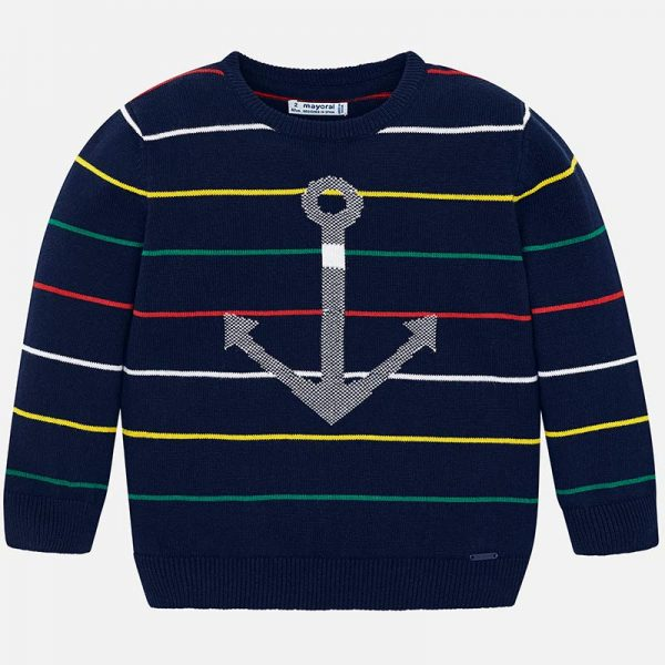 Mayoral boys knit sweater Front