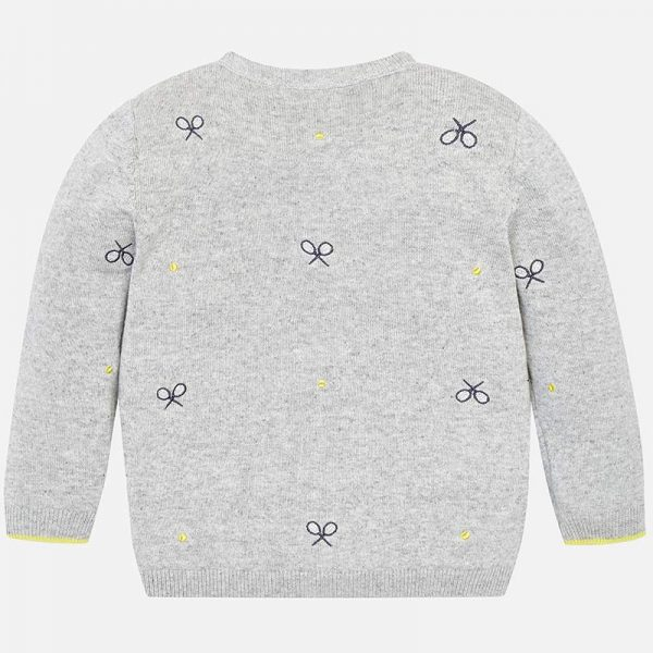 Mayoral Boys Tennis Knit sweater Back