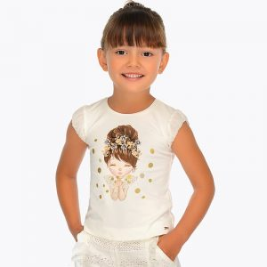 Mayoral Girls Doll T-shirt