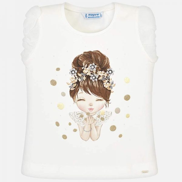 Mayoral Girls Doll T-shirt Front