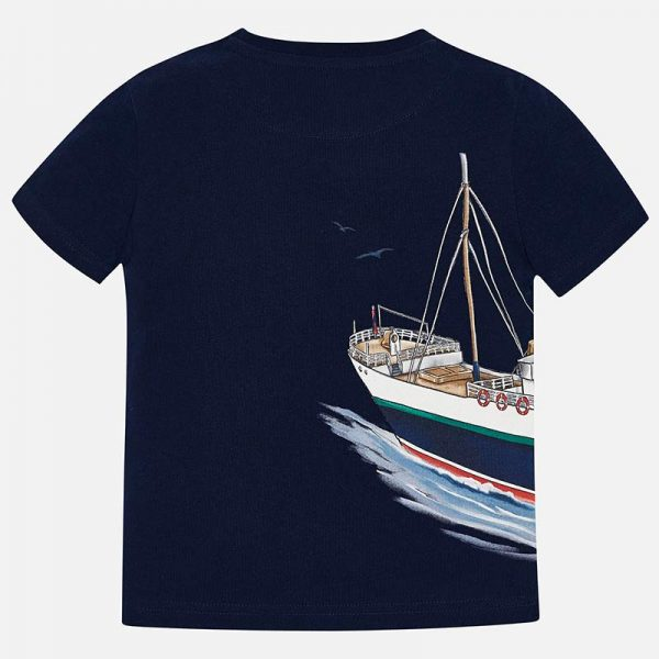 Mayoral Boys s/s Boat T-shirt Back