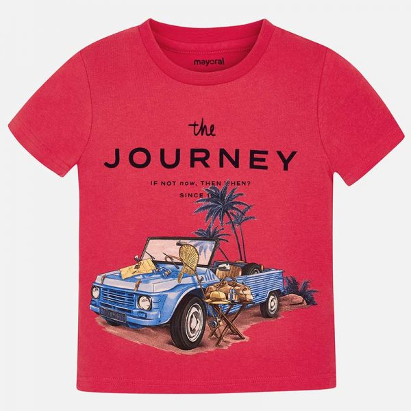 Mayoral Boys s/s journey tshirt Front