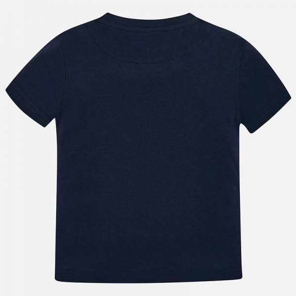 Mayoral Boys s/s Myrl tshirt Navy Back