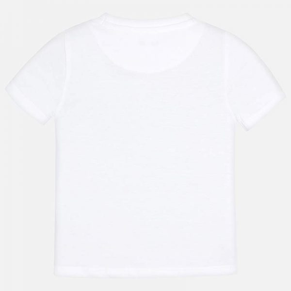 Mayoral Boys s/s Myrl tshirt White Back