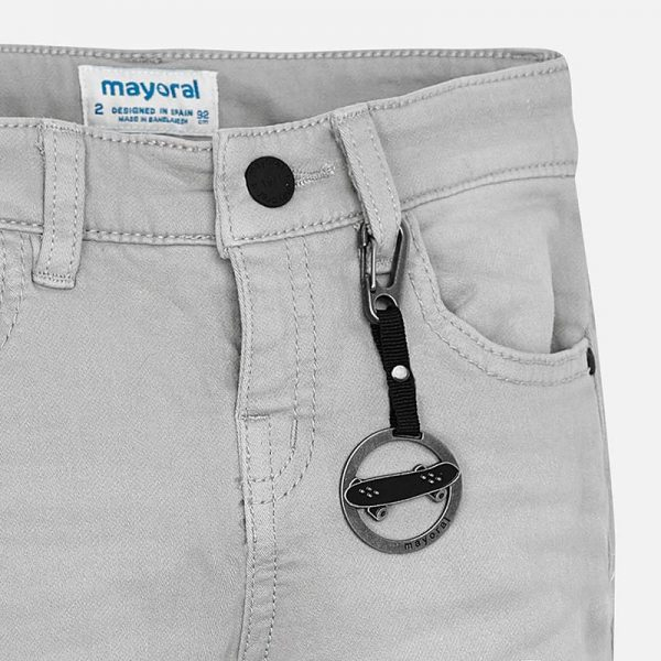 Mayoral Boys Slim Fit trousers Closeup