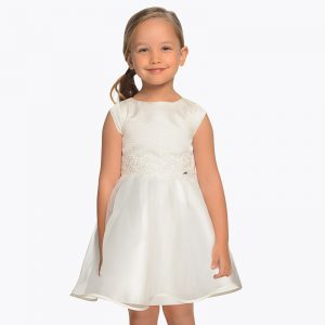 Mayoral Girls Organdy Dress