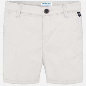 Mayoral Boys Basic Chino Shorts Front