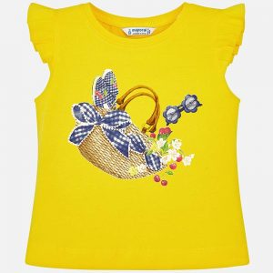Mayoral Girls Sleeveless T-Shirt Front