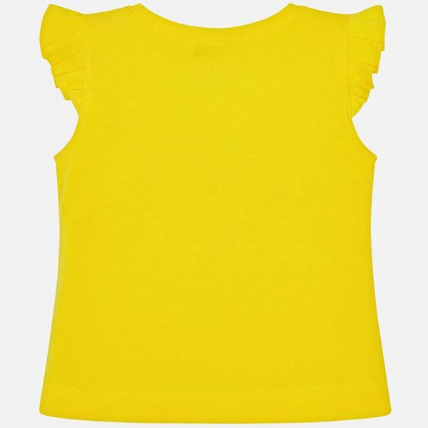 Mayoral Girls Sleeveless T-Shirt Back