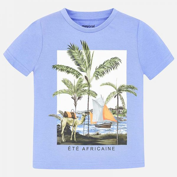 Mayoral Boys s/s Palm T-Shirt Front