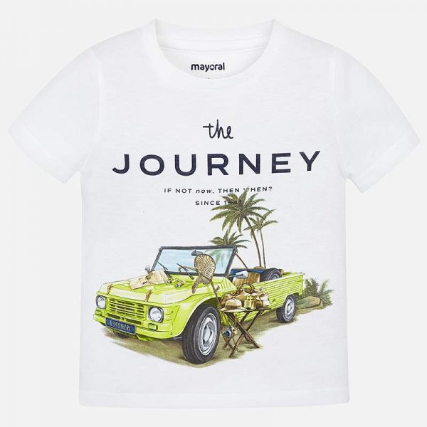 Mayoral Boys s/s Journey Shirt Front