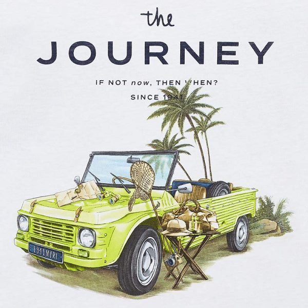 Mayoral Boys s/s Journey Shirt Closeup