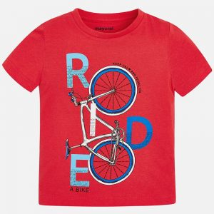 Mayoral Boys s/s Bike T-Shirt Front