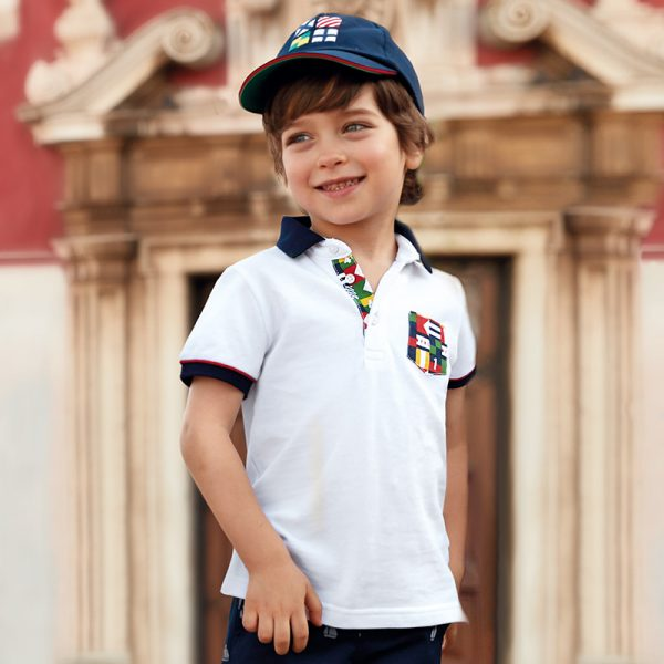 Mayoral Boys Polo short sleeved shirt