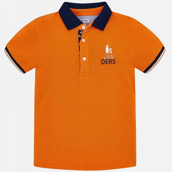Mayoral Boys s/s Polo Front