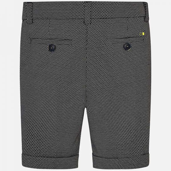 Mayoral Boys Tailored Linen Shorts Back