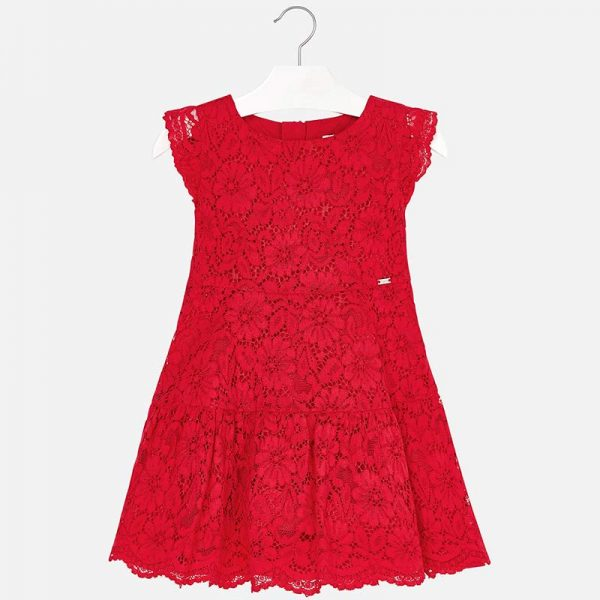 Mayoral Lace Dress Front